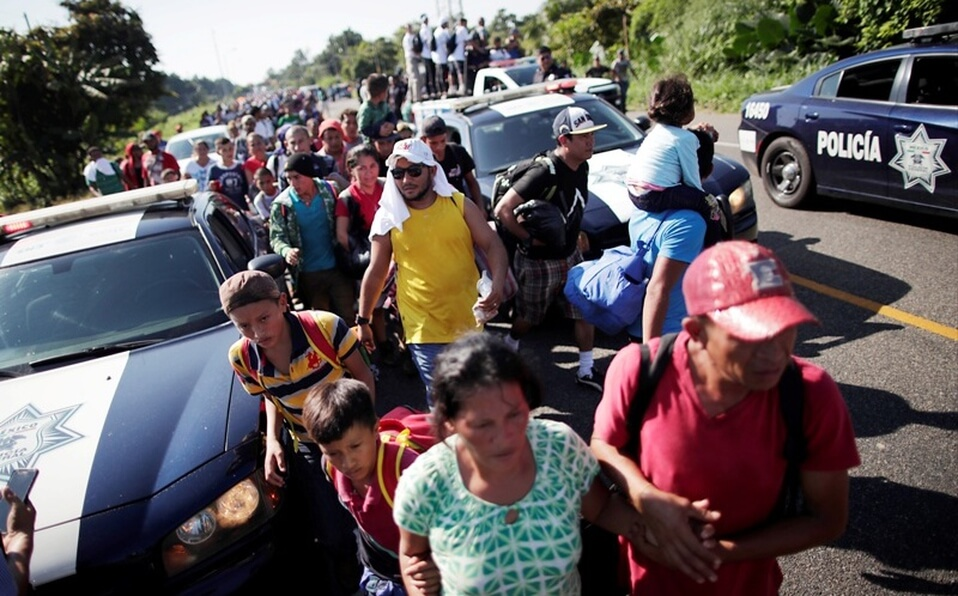 Caravana de Migrantes Fue Atacada a Tiros en Mexico; Reportan una Fallecida y 3 Lesionados