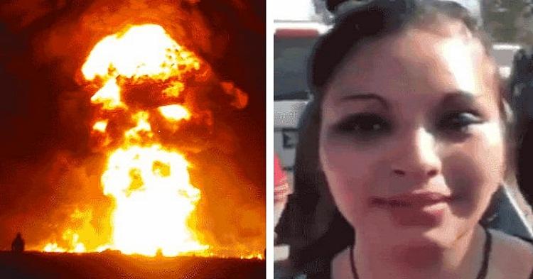 Esposa de Víctima de la Explosión Culpa a AMLO de la Tragedia e Invita a Ponerse de Lado de los Huachicoleros