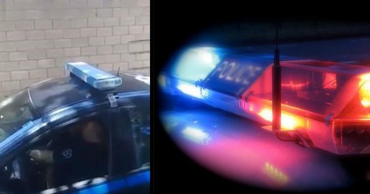 Captan a Pareja de Policías Bajandose la Temperatura Dentro de la Patrulla