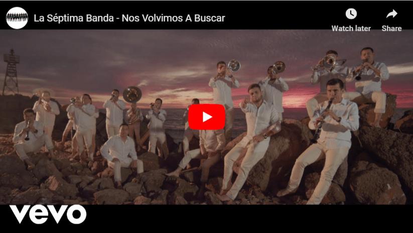 """La Séptima Banda Lanza un NUEVO TEMA Titulado """"Nos Volvimos a Buscar"""""""