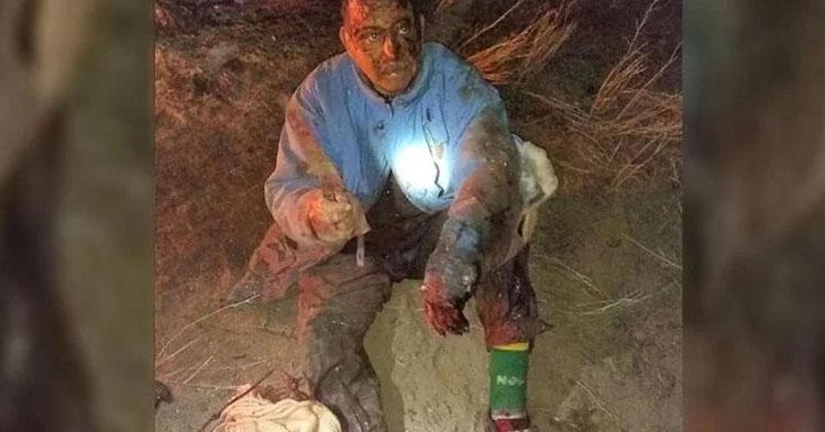 Ranchero lucha cuerpo a cuerpo contra puma para salvar a su perro