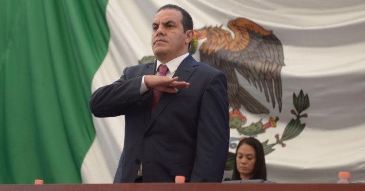 Gobernador de Morelos aspira a ser sucesor de AMLO en elección presidencial de 2024
