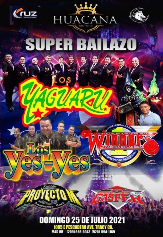 Los yaguaru evento la hucana