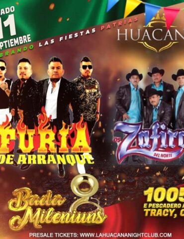 fiestas patrias en la huacana tracy